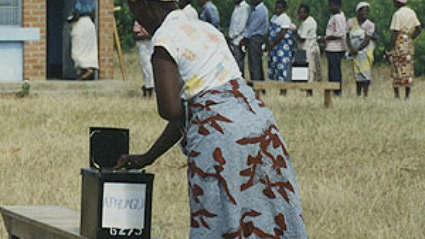 The Rwandan people made their choice during the recent presidential election.