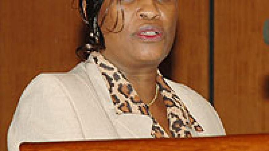EAC Deputy Secretary General (Political Federation) Beatrice Kiraso