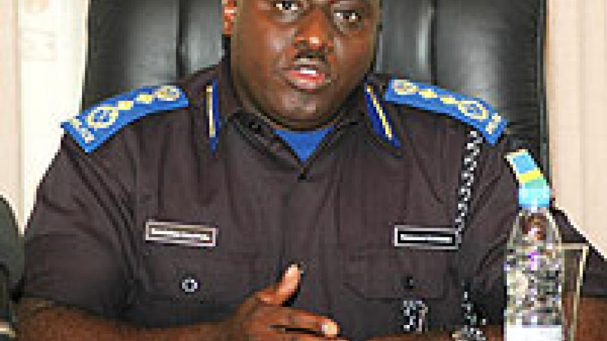 Emmanuel K. Gasana, Commissioner General of Police.