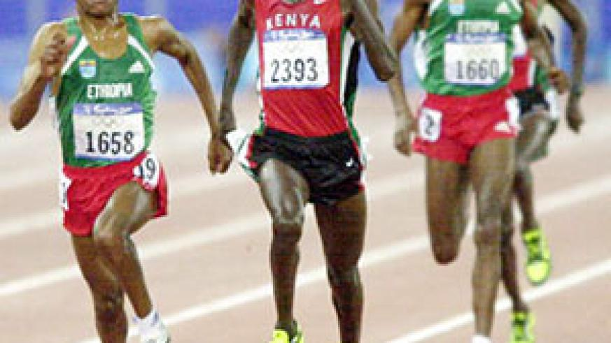 Young Rwandan athletes should attempt to emulate the great Haile Gebrselassie and Paul Tergat.