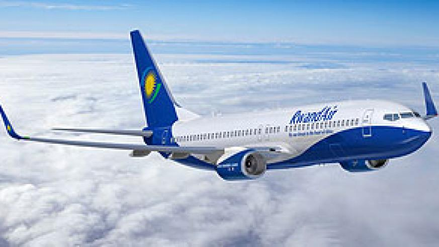RwandAir's second leased Boeing 737-500, is expected to arrive this week. (File photo)