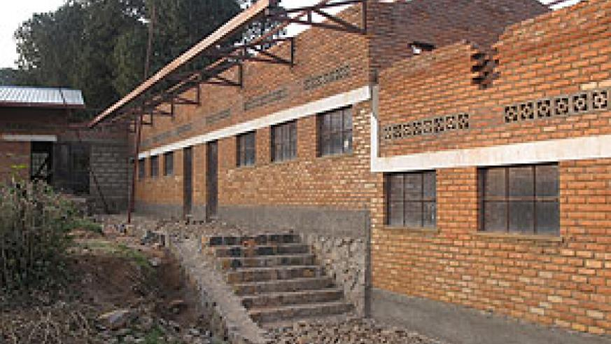 Some of the classrooms constructed in Nyamasheke district after the earthquake two years ago (Photo: S. Nkurunziza)