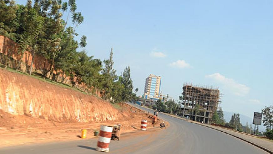 Kigali's new roads will all have street lights.