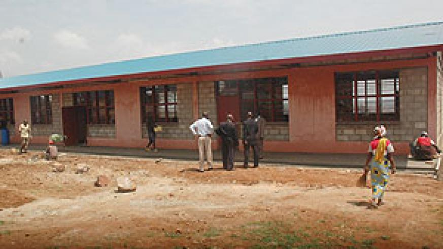 Some of the 3,172 classrooms constructed under 9-YBE classroom construction progamme (File photo)