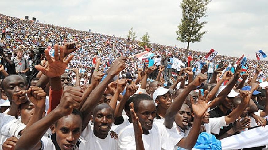 Despite the arrogant criticism, Rwanda's campigns and elections were free and fair.