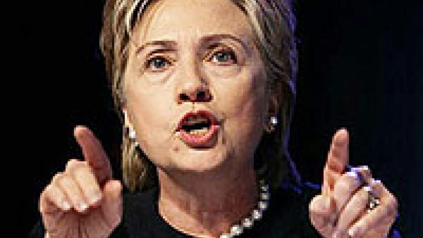 CONCERNED: Hillary Clinton (File Photo)