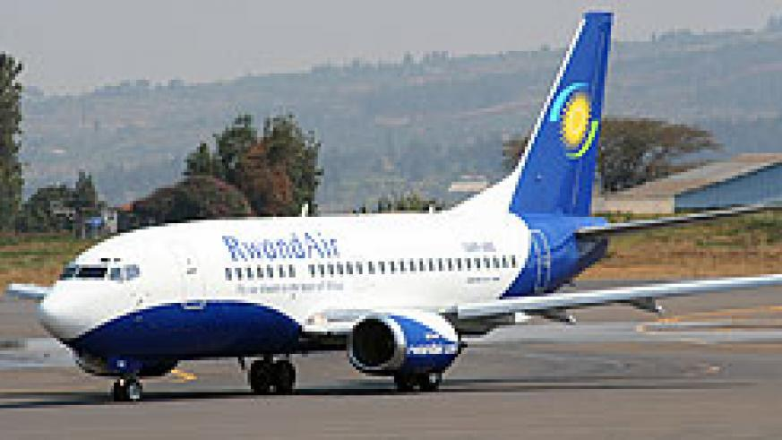 A Rwandair plane (File Photo)