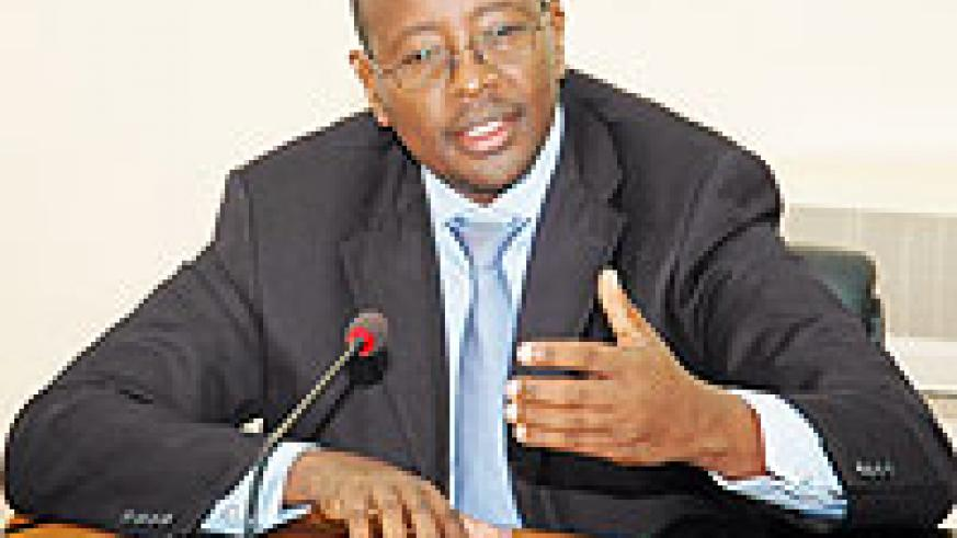 URGED; James Musoni (File photo)