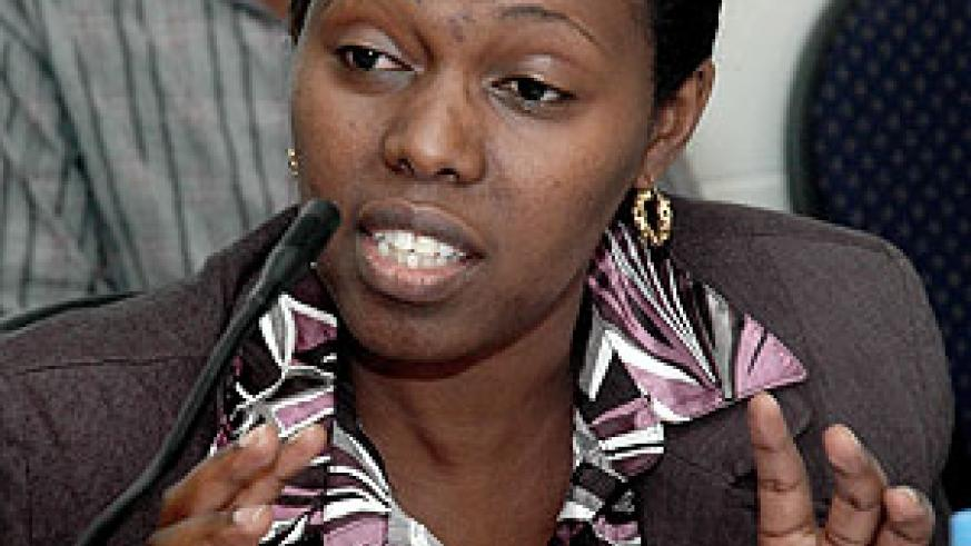 Dr. Corine Karema, the Acting Director General of TRAC-plus (File photo)