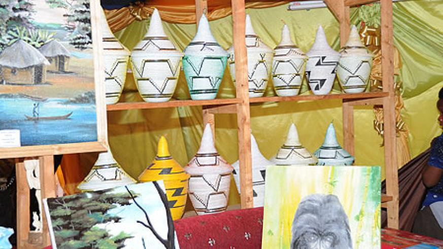 Go Get It. Beautiful Rwandan baskets and art pieces available in EXPO.