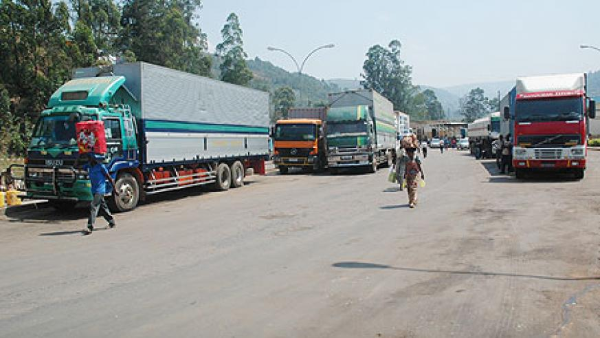 Long distance tracks wait to be cleared at Gatuna (File photo)
