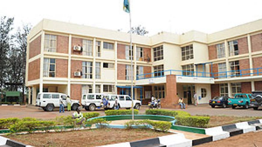 TO GIVE WAY; Nyarugenge District Headquarters (Photo; F. Goodman)