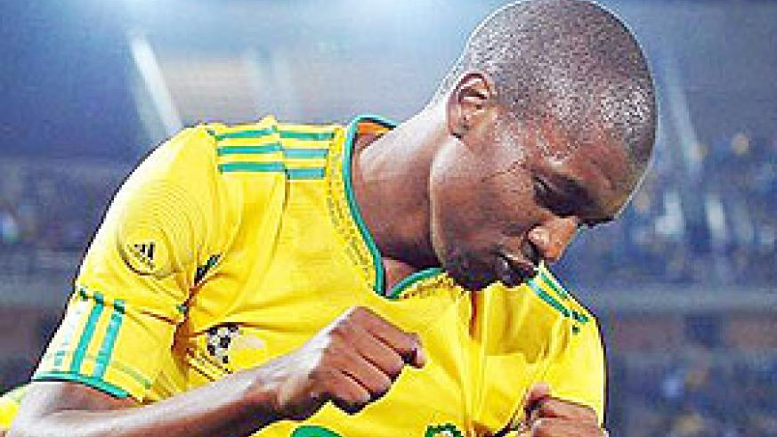 Katlego Mphela was on target for South Africa in their win over Niger