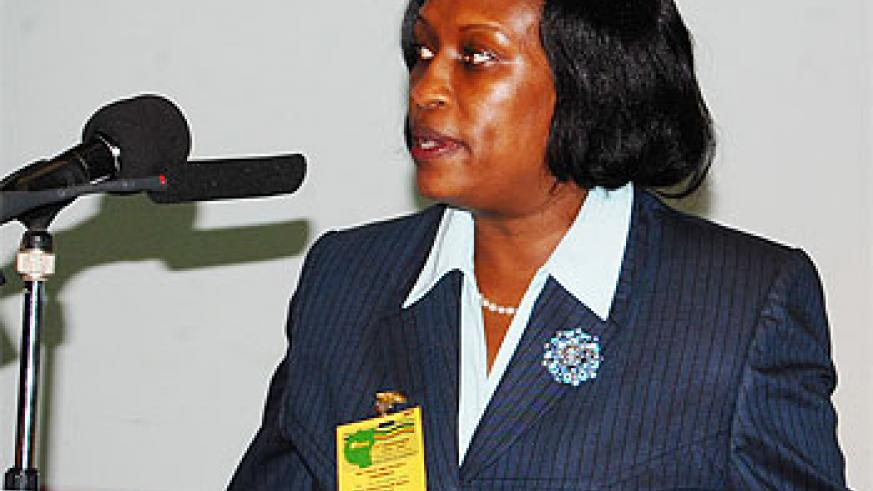 Beatrice Kiraso, the EAC Deputy Secretary General In charge of Political Federation.