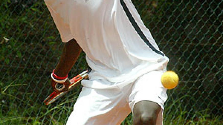 Rwanda's seed one Dieudonne Habiyambere is out of the reckoning. (File Photo)