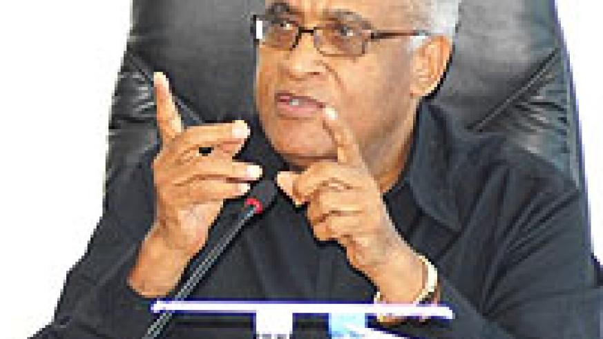 HEADED MISSION; Dr Salim Ahmed Salim headed the Commonwealth Observer Mission (File Photo)
