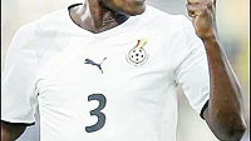 Gyan is in high spirits following his move to English side Sunderland.