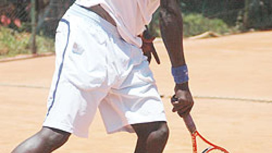 Another year goes begging for Gasigwa following yesterday's straight sets defeat against South Africa's Ruan Roelofse. (File Photo)