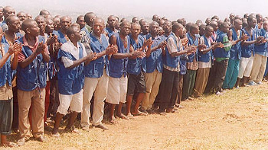 Tigists sing during a break from their activities. Some anomalies have been cited in the programme by its administrators (File Photo)