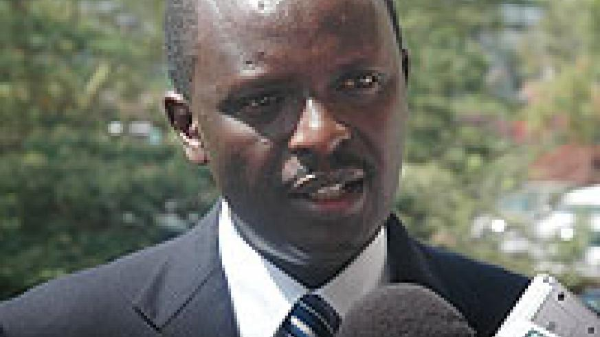 COMMENTED; Martin Ngoga (File photo)