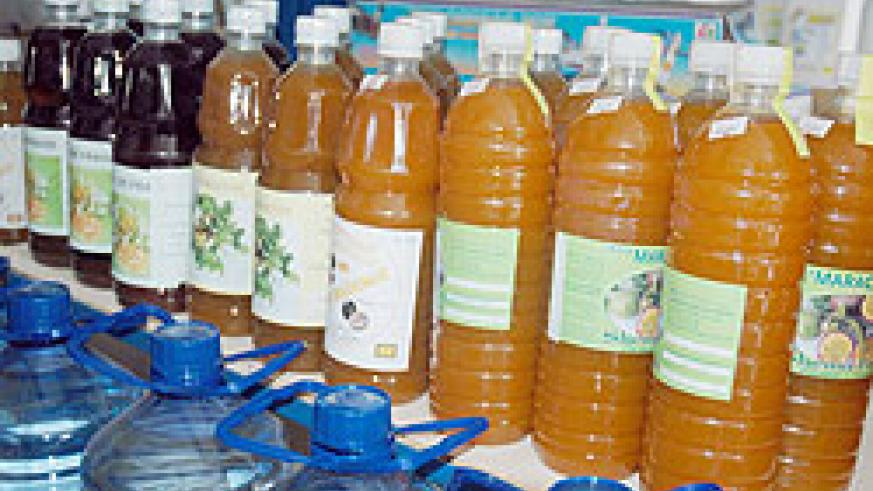 Some of the products manufactured in Rwanda