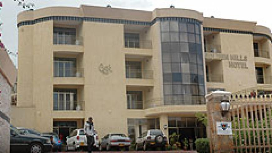Golden Hills Hotel; RDB has implemented reforms that have increased local and foreign investments (File photo)