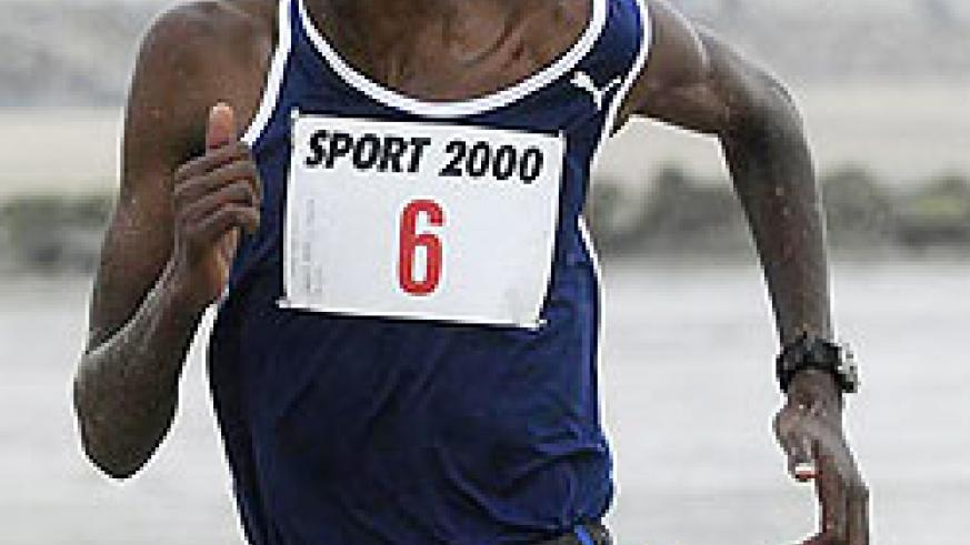 Rwanda will not compete in steeplechase after RAF's decision to drop Gervais Hakizimana. (File photo)