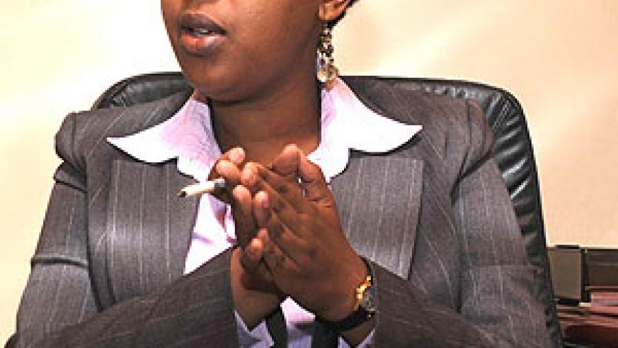 Molly Rwigamba, the Chief Executive Officer of PSF (File photo)