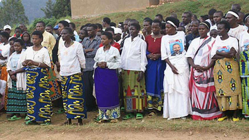 Most adults attending literacy programs in Rutsiro district are women (photo S Nkurunziza)