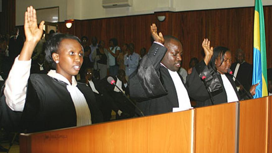 Most lawyers prefer to practice in urban centres (File photo)