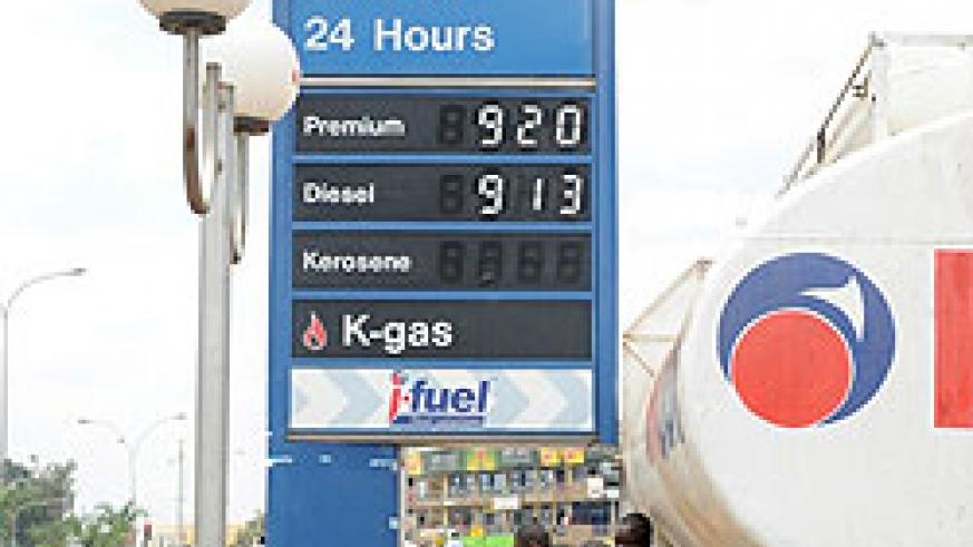 Fuel pump prices of been on the low of late and might get affecteed. (File Photo)