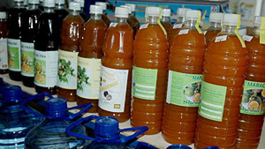 Rwanda currently export processed foodstuff, among others (File Photo)