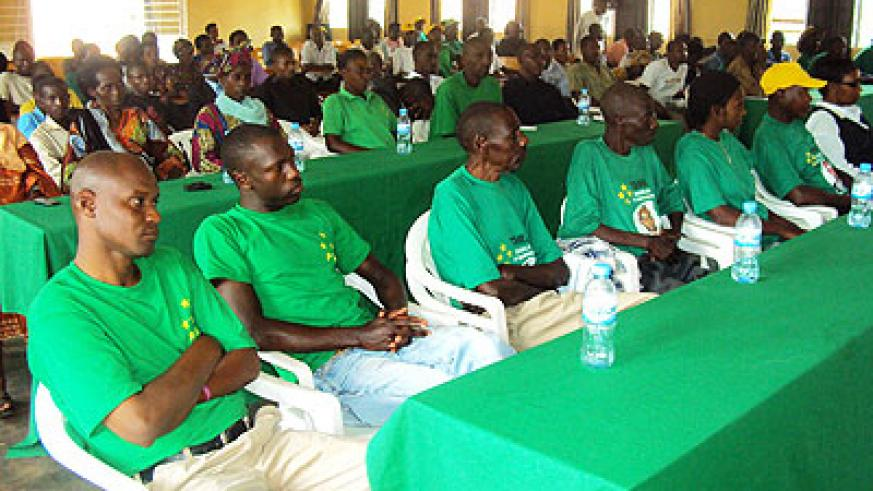 A cross section of PL supporters during the meeting (Photo; S. Rwembeho)