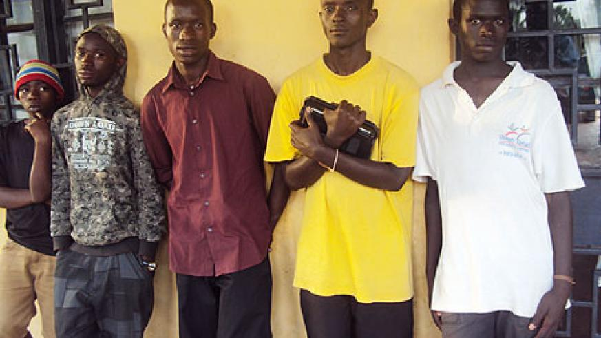 Some of the former street kids at their dormitory (Photo; S. Rwembeho)