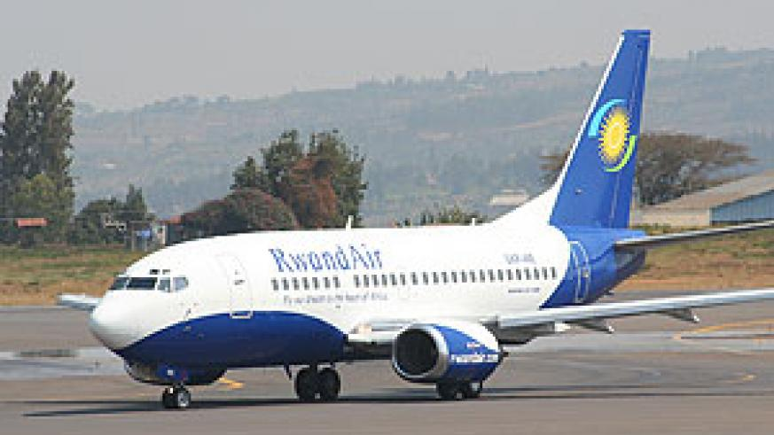 The new RwandAir aircraft (Courtsey Photo)