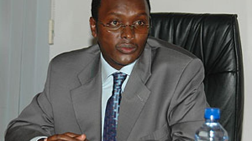 Emanuel Hategeka, the Permanent Secretary in the Ministry of Trade and Industry