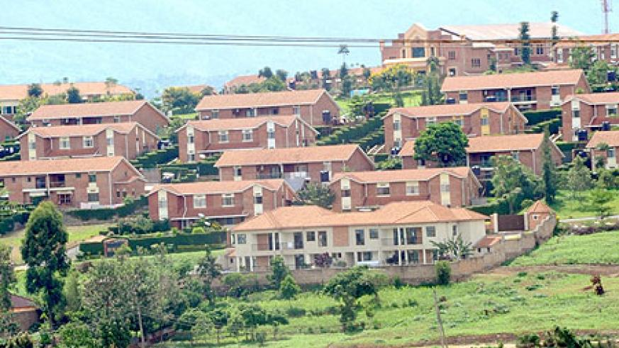 Gacuriro Estate, Kigali. Not many Rwandans can afford to live there.