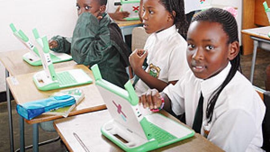 Computers have been also been distributed to school children under the OLPC progamme (File photo)