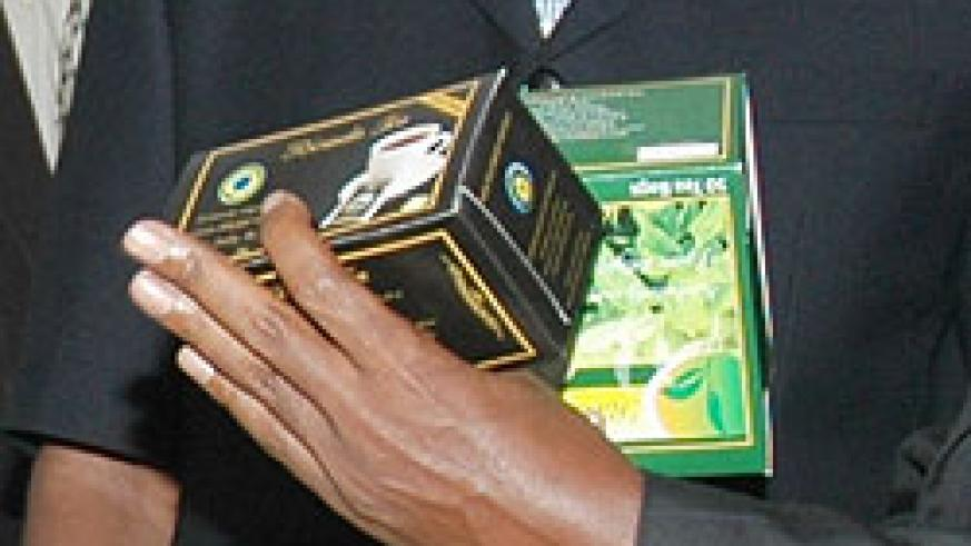 Some of Rwanda's tea products bound for export (File Photo)1