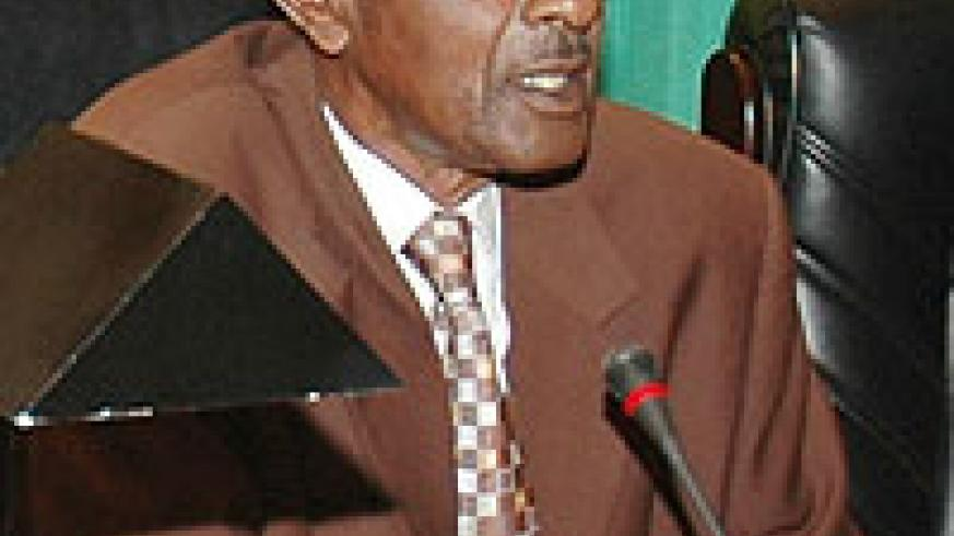 HEADS COMMITTEE; Aimable Nibishaka (File photo)