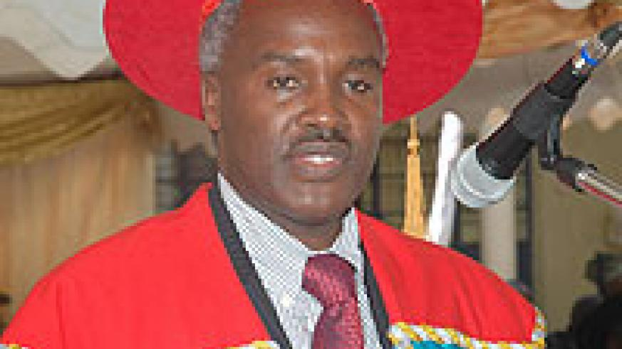 IN CHARGE; The Minister of Education, Dr. Charles Murigande (File photo)
