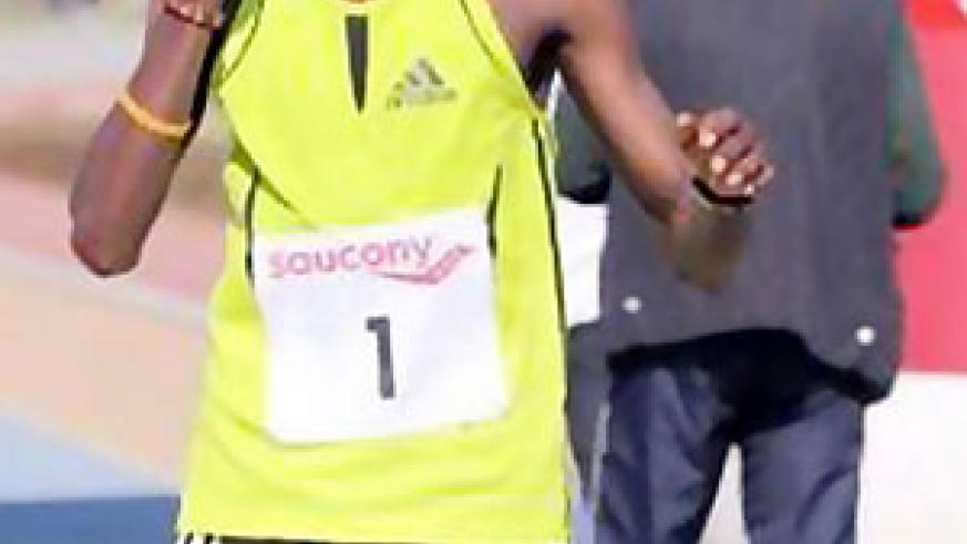 Rukundo Sylvain has been ruled out of the 10000m race
