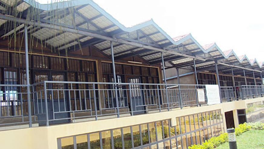 Many stalls in this new market remain unoccupied (Photo; S. Rwembeho)