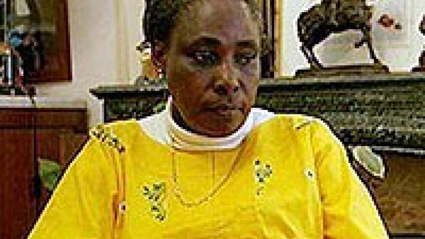 WANTED; Former Firsrt Lady Agathe Kanziga is among the fugitives (File Photo)