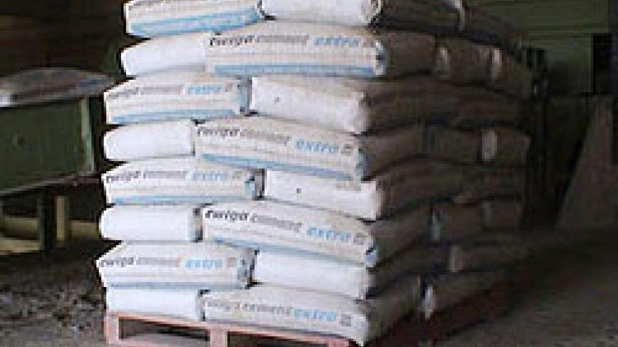 Cement production will be increased by the the new CIMERWA plant (File Photo)
