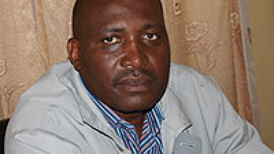 Emmanuel Habyarimana, the executive secretary of Nyabihu district