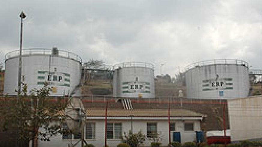 Oil reservoirs at Gasyata (file photo)