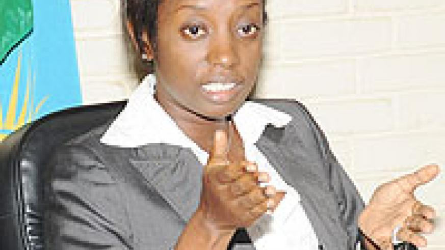The Acting Director General of NISR, Diane Karusisi (File photo)
