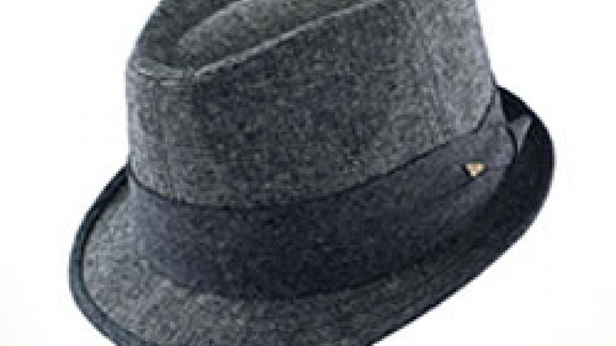 A trendy hat can do wonders for an average man