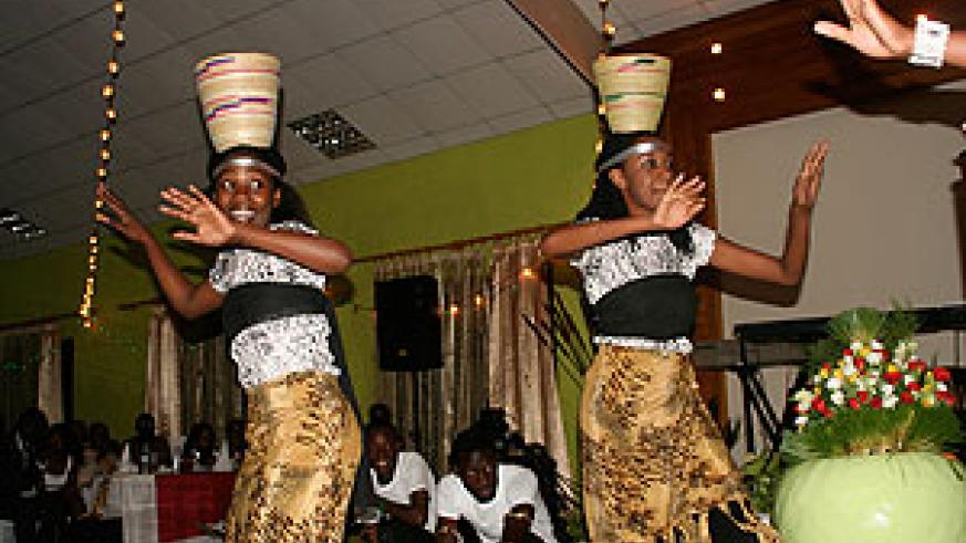 Passionate Ambassadors entertain the audience with their graceful dance